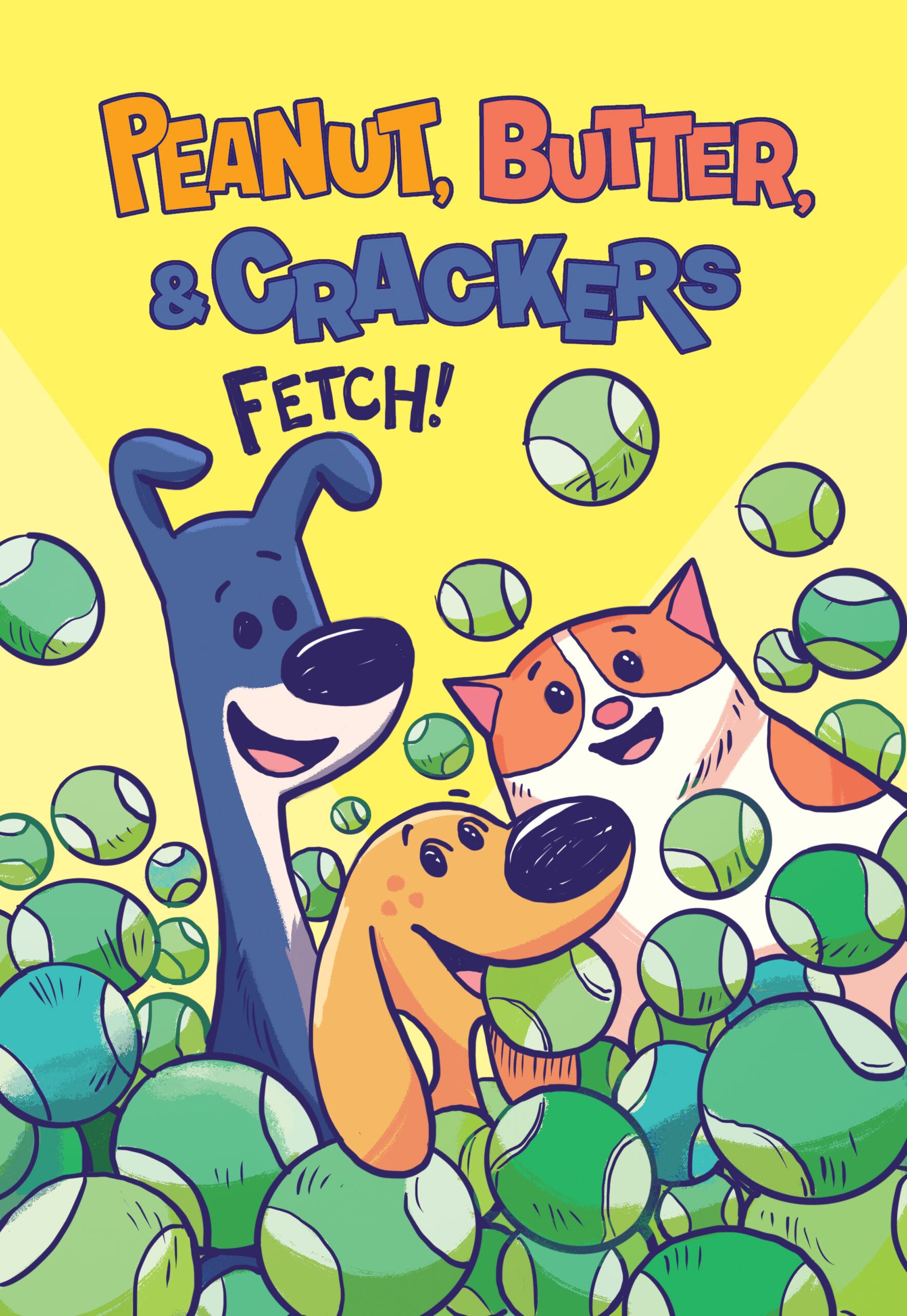 Cover of Book 2, Fetch!